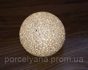 Led шар тёплый цвет 12 см Ewax
