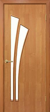 Двери Пальма стекло сатин