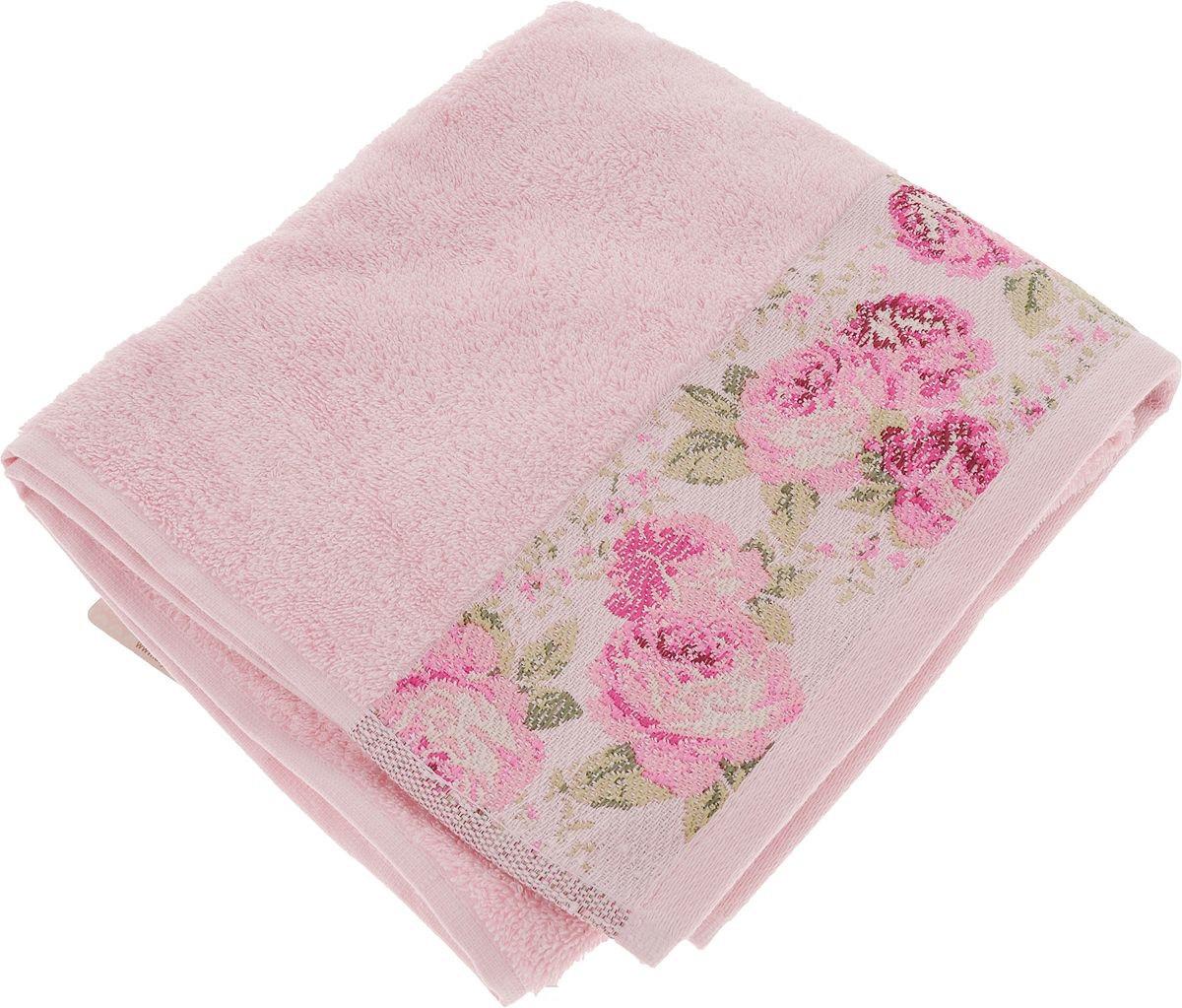 Полотенце махровое Arya 70X140 Desima Розовый TR1002517