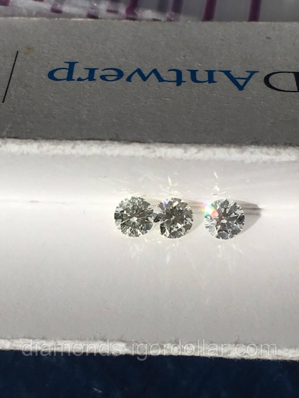 Купить бриллиант натуральный природный в Украине 10 штук по 4,3 мм 3,0  карата 079aa6c28d2
