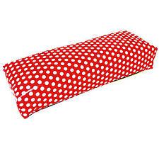 Подставка для рук в горошек (подлокотник 30 см)