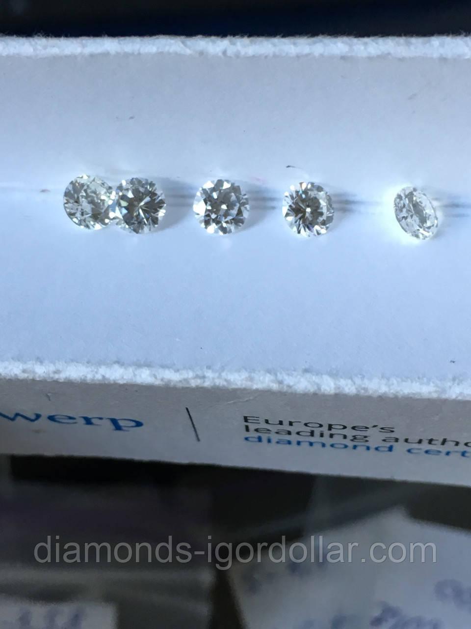 Купить бриллиант натуральный природный в Украине 10 штут по 4,5 мм 3 ... 7cee95dbe48