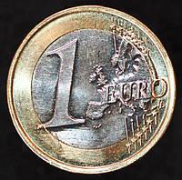 Монета Латвии  1 евро  2015 год.