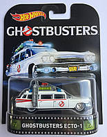Коллекционная машинка Hot Wheels Ghostbusters  ECTO-1
