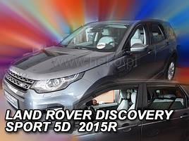 Дефлекторы окон (ветровики)  Land Rover Discovery Sport  5d 2014r (Heko)