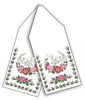 Весільний рушник - заготовка для вишивки бісером або нитками