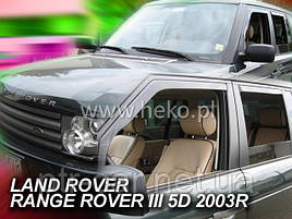 Дефлекторы окон (ветровики)   LAND ROVER RANGE ROVER - III 5D 02-12r (Heko)