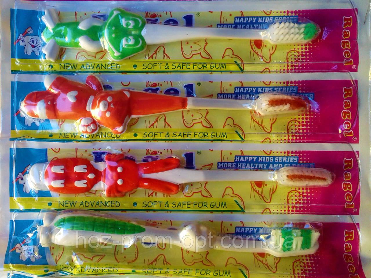 Дитяча зубна щітка на аркуші. Ціна за 1шт.