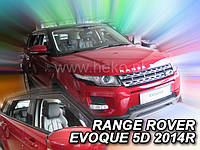 Дефлекторы окон (ветровики)   LAND ROVER RANGE ROVER EVOQUE - 5D 2011R-> (Heko)