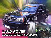 Дефлекторы окон (ветровики)   LAND ROVER RANGE  ROVER SPORT I 5d  05-12r (Heko)