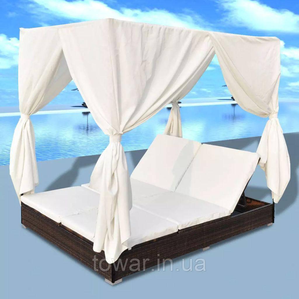 Лежак шезлонг кровать Celio 2-местный диван