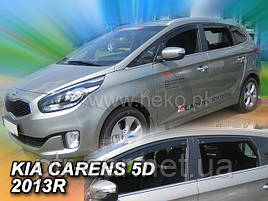 Дефлекторы окон (ветровики)  Kia Carens 5D 2013R-> 4шт (Heko)