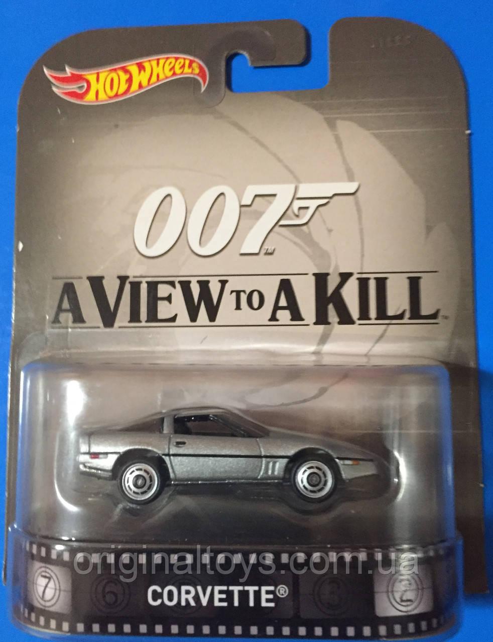 Коллекционная машинка Hot Wheels  007 Corvette