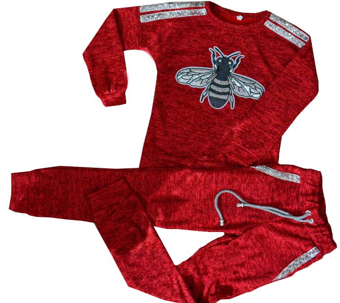 Демисезонный детский костюм из ангоры