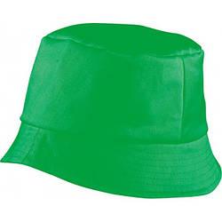 Красива бавовняна панама BOB HAT (зелена)