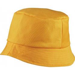 Красива бавовняна панама BOB HAT (жовта)
