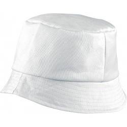 Красива бавовняна панама BOB HAT (біла)