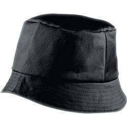 Красива бавовняна панама BOB HAT (чорна)