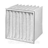 TROX Pocket filter inserts 6 pockets nonwoven chemical fibres G4 592x287x360, 592х287х360mm
