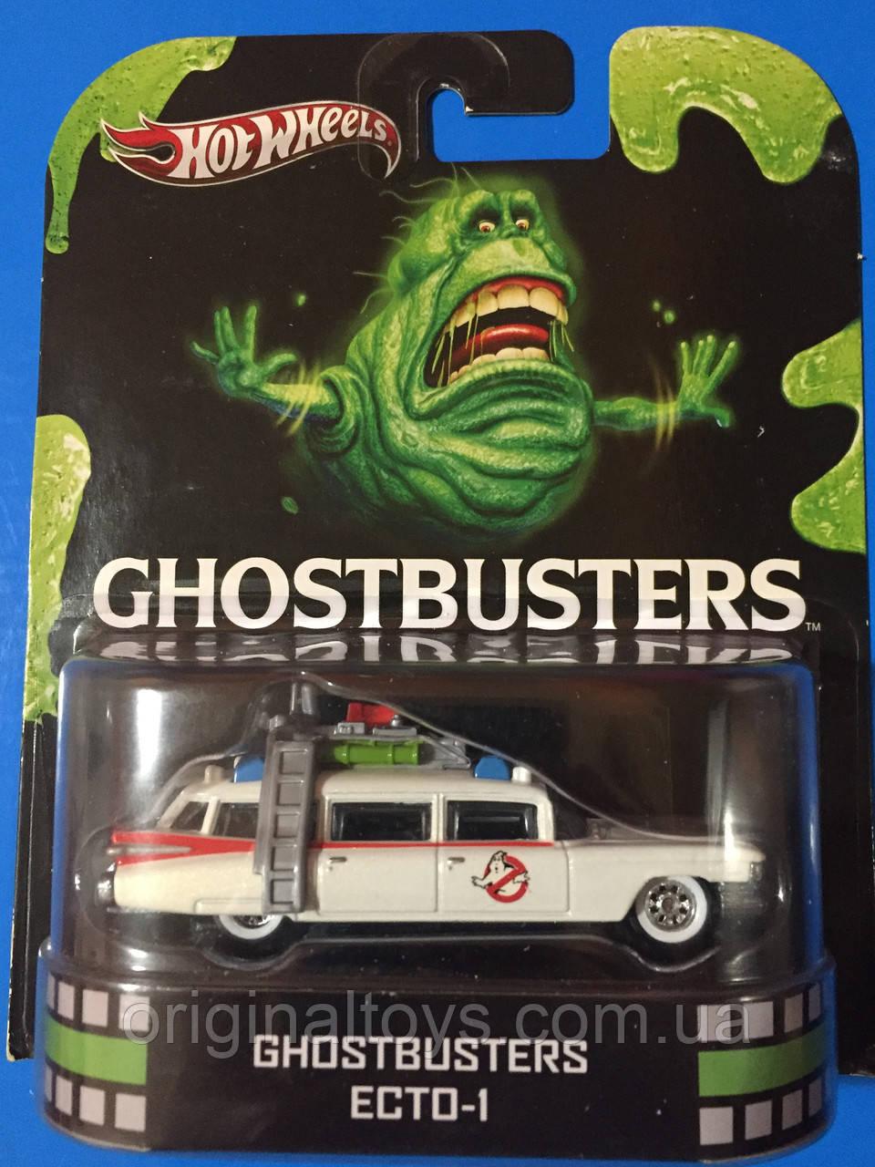 Колекційна машинка Hot Wheels Ghostbusters I ECTO-1