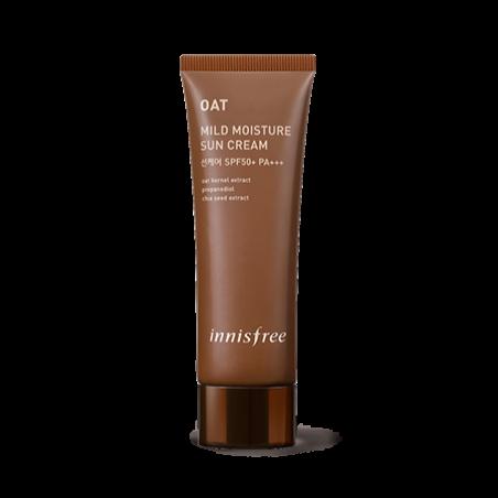 Innisfree Oat Mild Moisture Sun Cream SPF50 Солнцезащитный крем с экстрактом овса