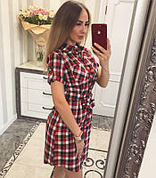 Платье рубашка из хлопка 012, фото 1
