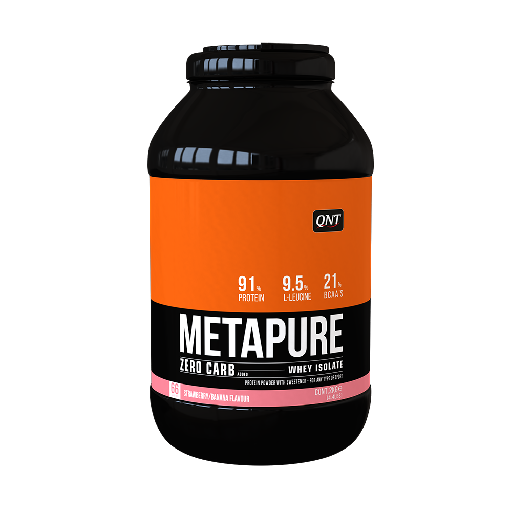 QNT_Metapure ZC Isolate 2 кг - Strawberry/Banana