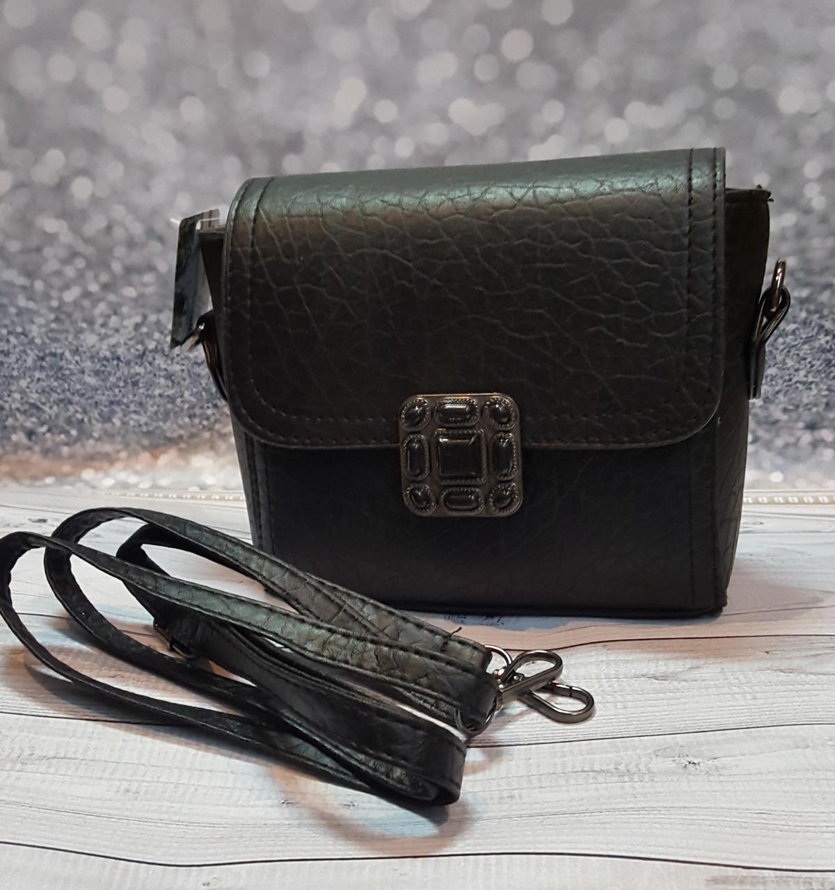 Женская черная сумочка