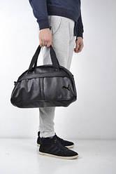 Спортивная сумка Puma черного цвета
