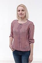 Блуза женская из шифона, розовый (р. 44-48)
