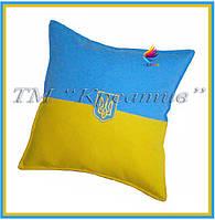 Подушки декоративные Украина с Вашим логотипом (от 100 шт)