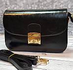 Женский черный клатч, фото 2