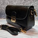 Женский черный клатч, фото 3