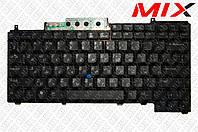 Клавиатура Dell Latitude D620, D630, D631, D820, D830 черная RU/US
