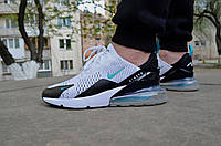 Мужские кроссовки Nike Air Max 270 White (Реплика)