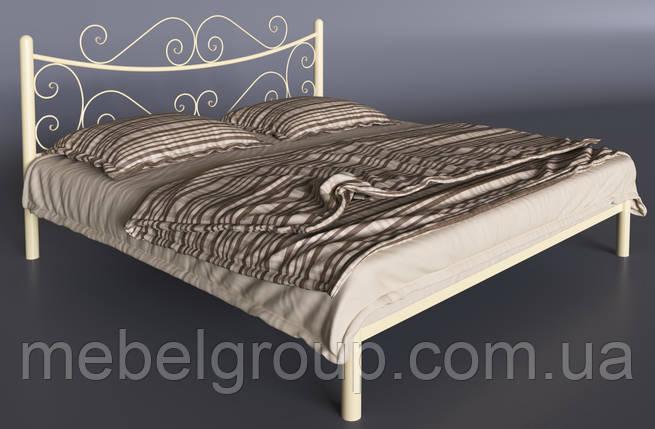 Металева ліжко Азалія, фото 2