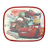 Солнцезащитные шторки Тачки (Cars) в авто (комплект: 2шт., р. 44x36 см) ТМ ARDITEX WD11542