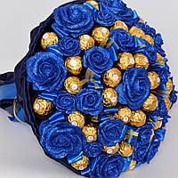 Королевский букет из конфет Ferrero Rocher № 44 (для мужчины, для шефа, на годовщину) Солидный подарок