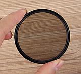 Фильтр поляризационный CPL 72 мм полярик, фото 2
