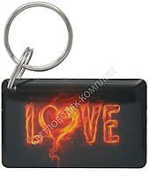 """Заготовка ключа для домофона RFID 5577, """"LOVE"""", перезаписываемая"""