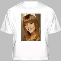 Белая футболка с фото