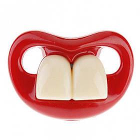 РАСПРОДАЖА! Смешная соска с зубами