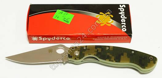 Нож складной карманный Spyderco military