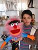 Куклы для кукольных театров, любимые мультипликационные герои.