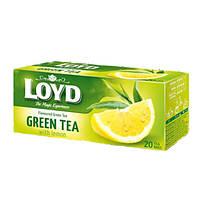 Чай в пакетиках Loyd, Green Tea, lemon 1,5г*20шт