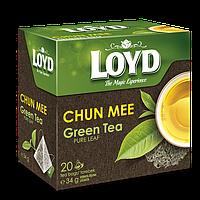 Чай в пакетиках пирамидках Loyd Chun Mee, 1,7г*20шт