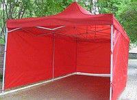 Стенки для шатров 3х3м.  Цельным полотном. Забор для торговых шатров.