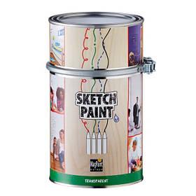 Маркерная краска Sketchpaint прозрачная глянцевая 1 л 6 кв.м