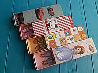 Именные ложечки и вилочки с героями мультфильмов