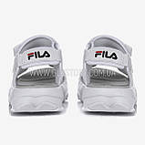 Женские белые спортивные босоножки фила, фото 6
